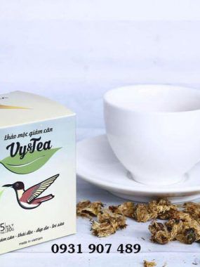 Trà giảm cân vy and tea